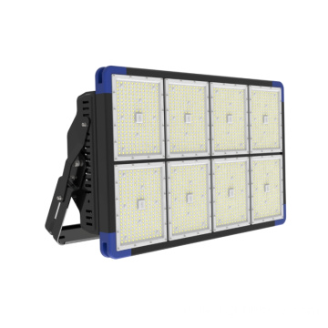 IP66 High-end 1440w Aluminium LED Flood Lights untuk Stadion